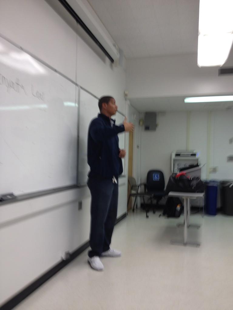 Kenyatta Leal Teaching at SFSU