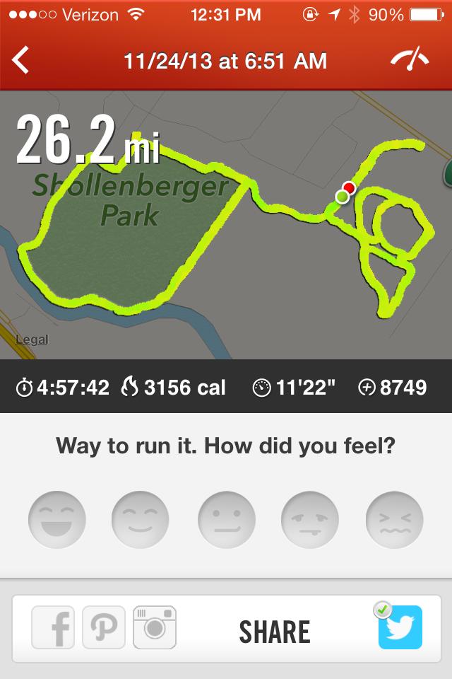 My tenth marathon in 2013