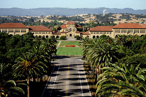 Stanford University, Palm Drive