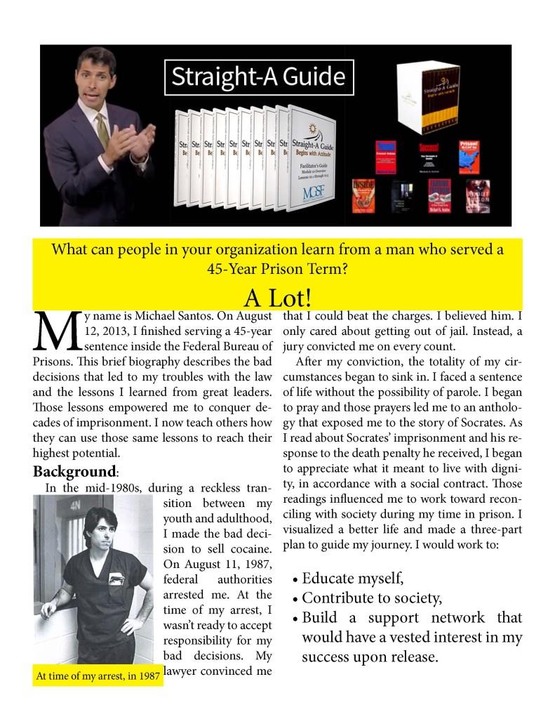 Michael Santos Biography