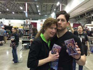 Seth Ferranti with Wife, Diane