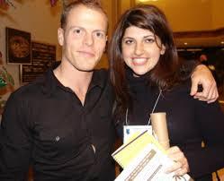 Rachel Rofe with Tim Ferris